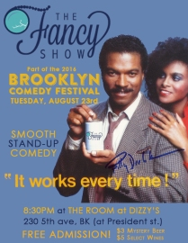 Fancy Show Billy D BK Comedy Fest Poster
