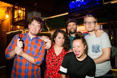 Photo by Jenni Walkowiak - Michael Joyce, Liza Treyger, Simmons McDavid, Julia Olson, Lane Pieschel