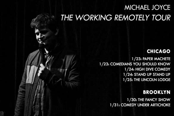 michael joyce - working remotely tour